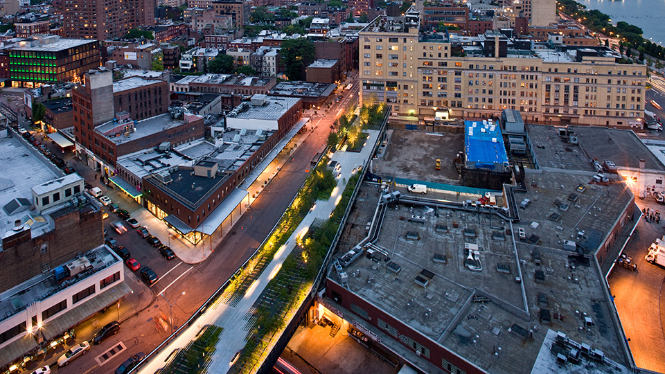 Visible on the High Line: Making Collaborations