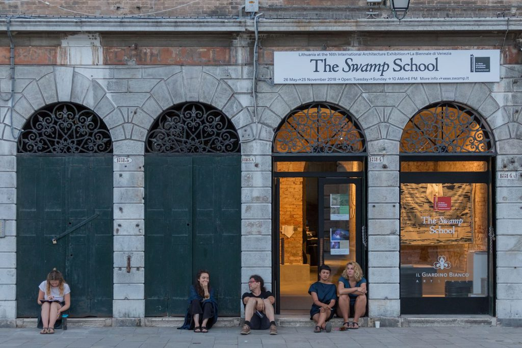 "Visible collaborations on ""Commonism"" book and The Swamp Pavilion in Venice"