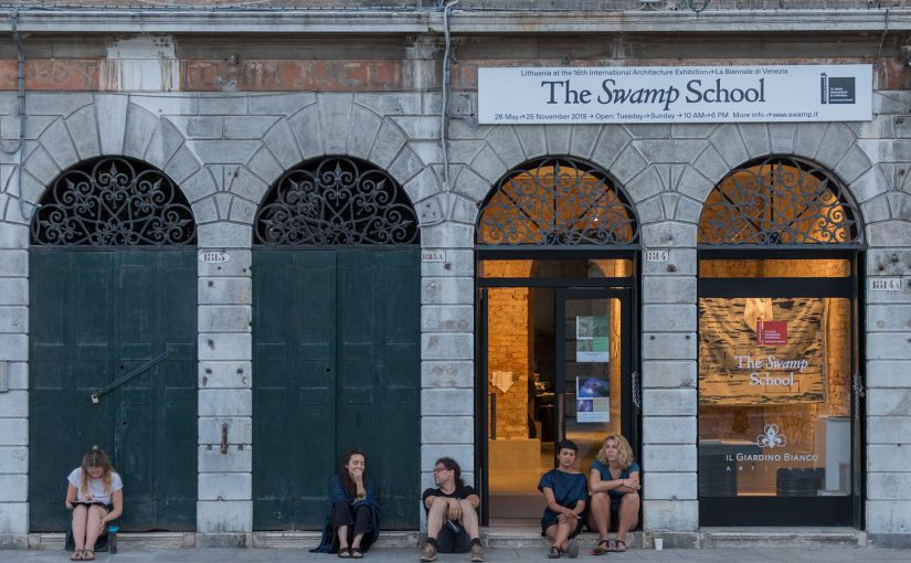 """Visible collaborations on """"Commonism"""" book and The Swamp Pavilion in Venice"""